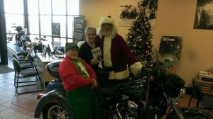 Meet Santa and his helpers at Winona Harley-Davidson December 5.